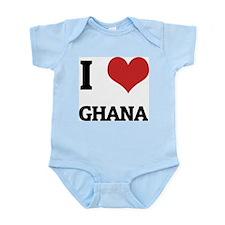 I Love Ghana Infant Creeper
