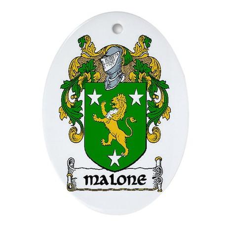 Malone Coat of Arms Keepsake Ornament