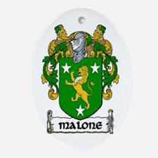 Malone Coat of Arms Keepsake Ornament