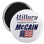 "Hillary4McCain 2.25"" Magnet (100 pack)"
