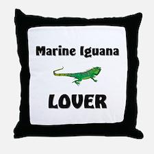 Marine Iguana Lover Throw Pillow