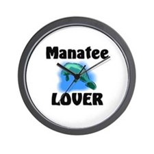 Manatee Lover Wall Clock