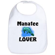 Manatee Lover Bib