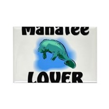 Manatee Lover Rectangle Magnet