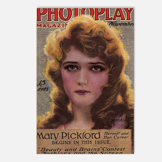 Mary Pickford 1915 Postcards (Package of 8)