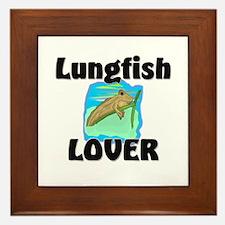 Lungfish Lover Framed Tile