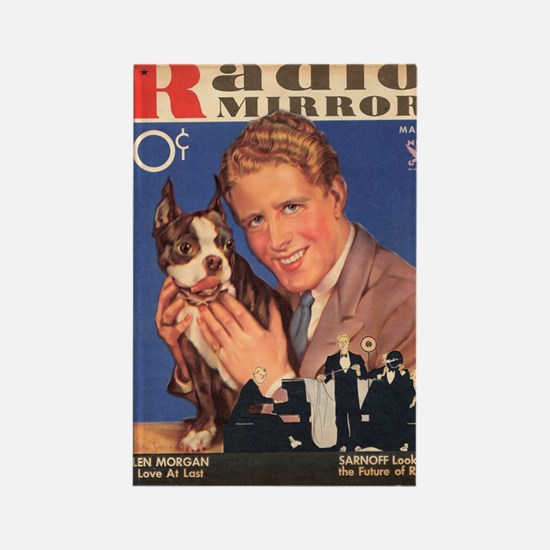 Rudy Vallee Dog 1934 Rectangle Magnet