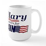 Hillary4McCain Large Mug