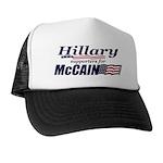Hillary4McCain Trucker Hat