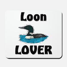 Loon Lover Mousepad