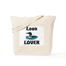 Loon Lover Tote Bag