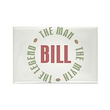 Bill Man Myth Legend Rectangle Magnet (10 pack)