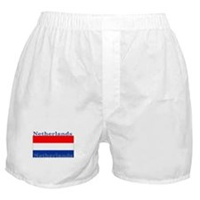 Netherlands Dutch Flag Boxer Shorts