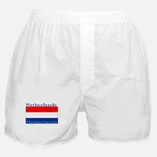 Netherlands Dutch Flag Boxer Shorts