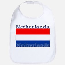 Netherlands Dutch Flag Bib