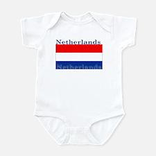 Netherlands Dutch Flag Infant Bodysuit