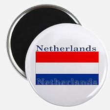 Netherlands Dutch Flag Magnet