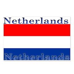 Netherlands Dutch Flag Postcards (Package of 8)
