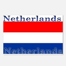 Netherlands Dutch Flag Postcards (Package of 8)