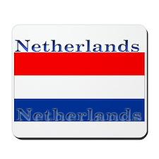 Netherlands Dutch Flag Mousepad