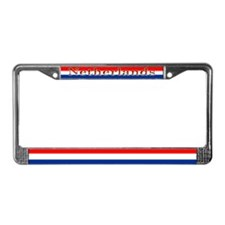 Netherlands Dutch Flag License Plate Frame