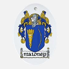 Maloney Coat of Arms Keepsake Ornament