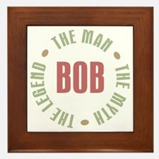 Bob Man Myth Legend Framed Tile