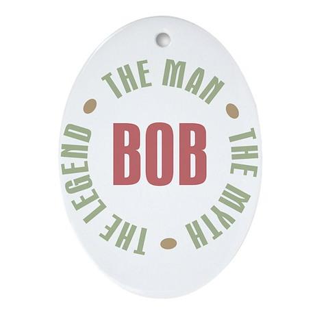 Bob Man Myth Legend Oval Ornament