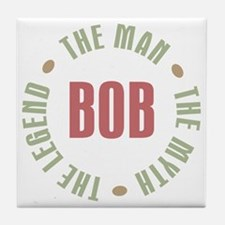 Bob Man Myth Legend Tile Coaster