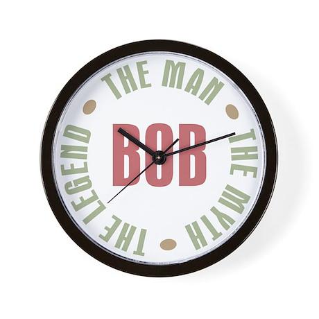 Bob Man Myth Legend Wall Clock
