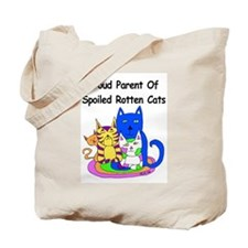 Spoiled Rotten Cats Tote Bag