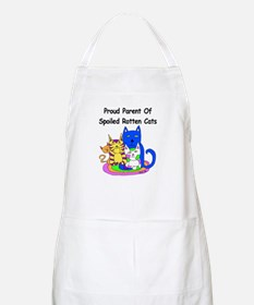 Spoiled Rotten Cats BBQ Apron