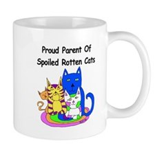 Spoiled Rotten Cats Mug