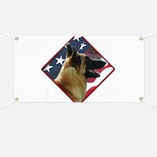Malinois Flag 2 Banner