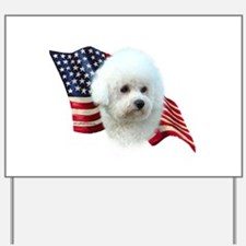 Bichon Flag Yard Sign
