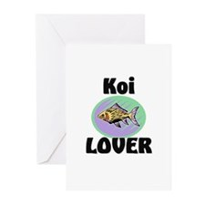 Koi Lover Greeting Cards (Pk of 10)