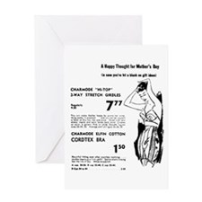 Mother's Day 1955 Girdle Greeting Card