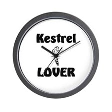 Kestrel Lover Wall Clock