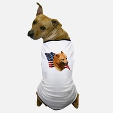 Finnish Spitz Flag Dog T-Shirt