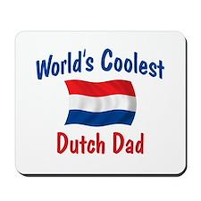 Coolest Dutch Dad Mousepad