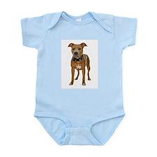 Pit Bull Infant Bodysuit