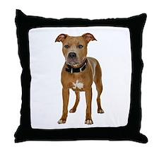 Pit Bull Throw Pillow