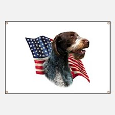 Wirehaired Flag Banner