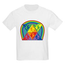 Turtle Triangle Rainbow T-Shirt