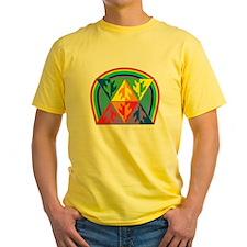 Turtle Triangle Rainbow T