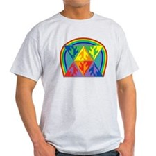 Turtle Triangle Rainbow T-Shirt