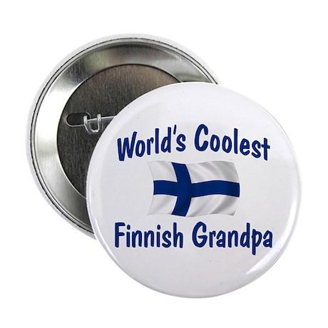 """Coolest Finnish Grandpa 2.25"""" Button"""