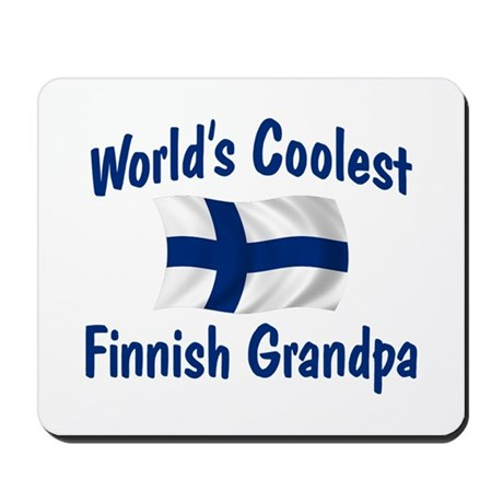 Coolest Finnish Grandpa Mousepad