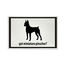 Got Miniature Pinscher? Rectangle Magnet