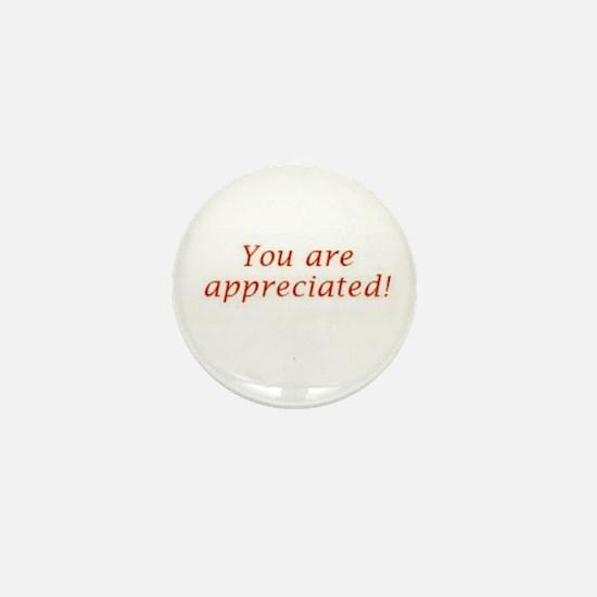 Appreciation Mini Button